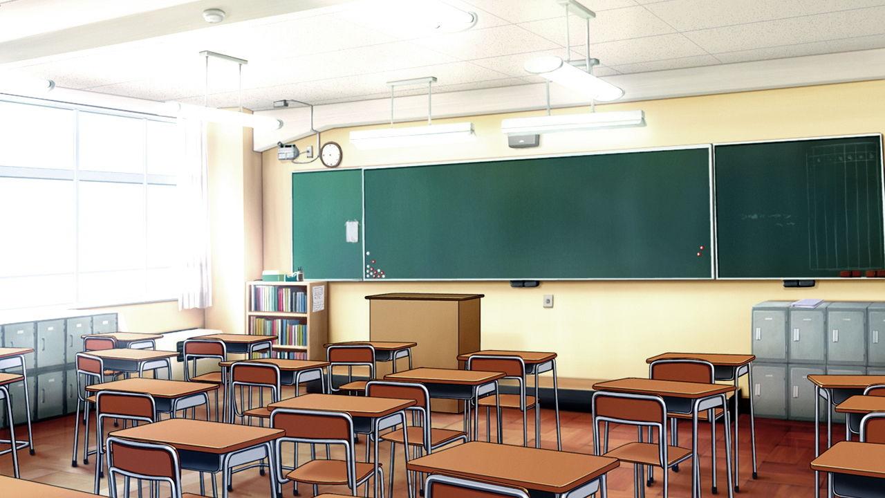 【無料】「学校の背景が全てそろう01」完全フリー素材集!!無料体験版