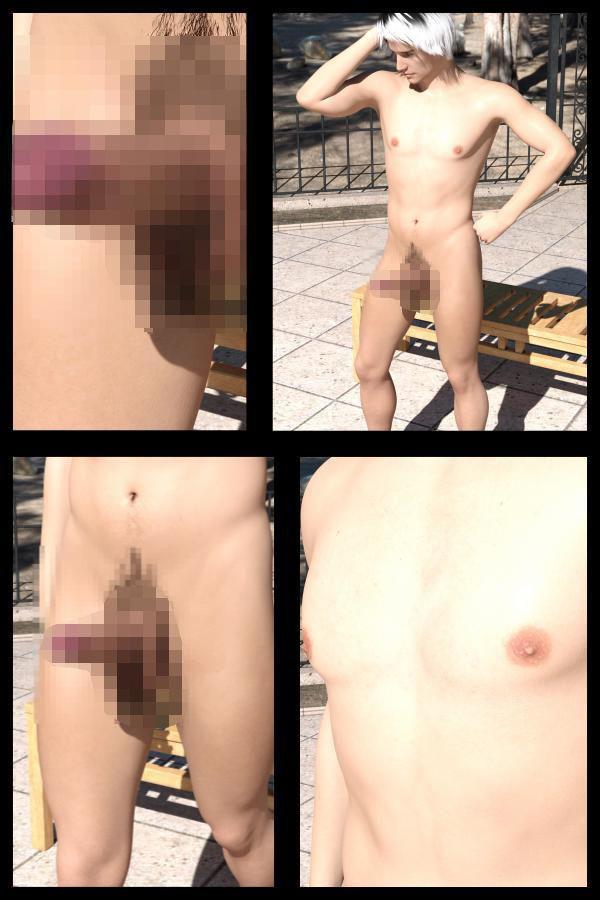 【50●△】『理想の彼女を3DCGで作ります』から生まれたバーチャル男優「Jun Yoshino(よしの・じゅん)」のヌード写真集デビューについてインタビューする淫乱女性記者