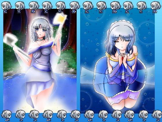 女神のようなアイドルっぽい女の子の立ち絵などイラスト素材