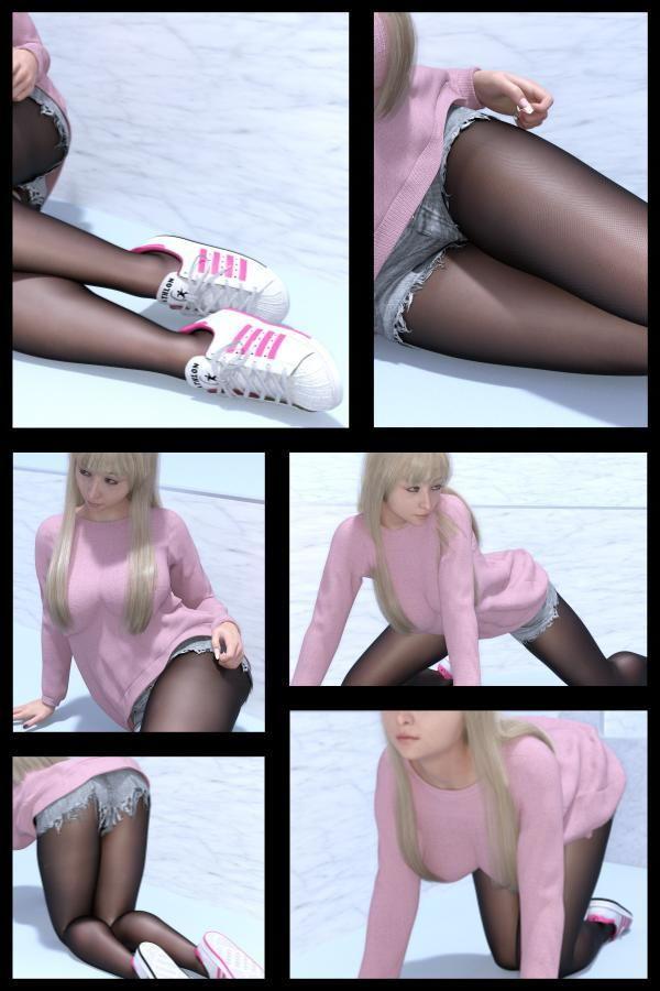♪『理想の彼女を3DCGで作ります』から生まれたバーチャルアイドル「Jerena Yang(ヘレーナ・ヤング)」の22th写真集:Femme fatale 22(ファム・ファタール22:運命の女性)