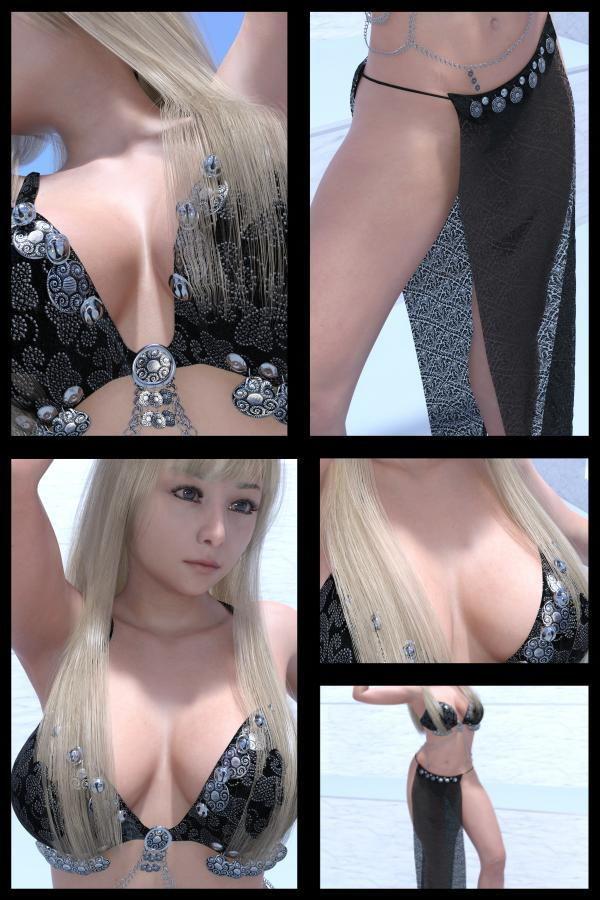 ♪『理想の彼女を3DCGで作ります』から生まれたバーチャルアイドル「Jerena Yang(ヘレーナ・ヤング)」の24th写真集:Femme fatale 24(ファム・ファタール24:運命の女性)