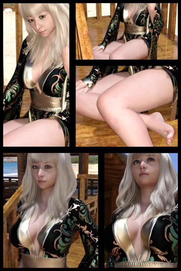 ♪『理想の彼女を3DCGで作ります』から生まれたバーチャルアイドル「Jerena Yang(ヘレーナ・ヤング)」の47th写真集:Femme fatale 47(ファム・ファタール47:運命の女性)