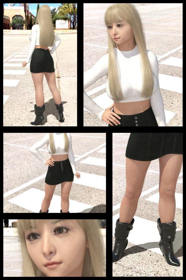 ♪『理想の彼女を3DCGで作ります』から生まれたバーチャルアイドル「Jerena Yang(ヘレーナ・ヤング)」の48th写真集:Femme fatale 48(ファム・ファタール48:運命の女性)