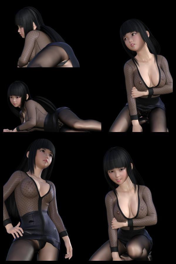 『理想の彼女を3DCGで作ります』から生まれたバーチャルアイドル「Mizuho(ミズホ)の写真集:Mizuho02(ミズホ02)