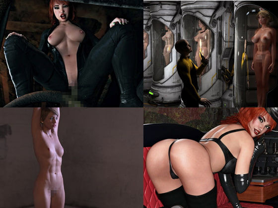Sexy Women 3D Renderings 9