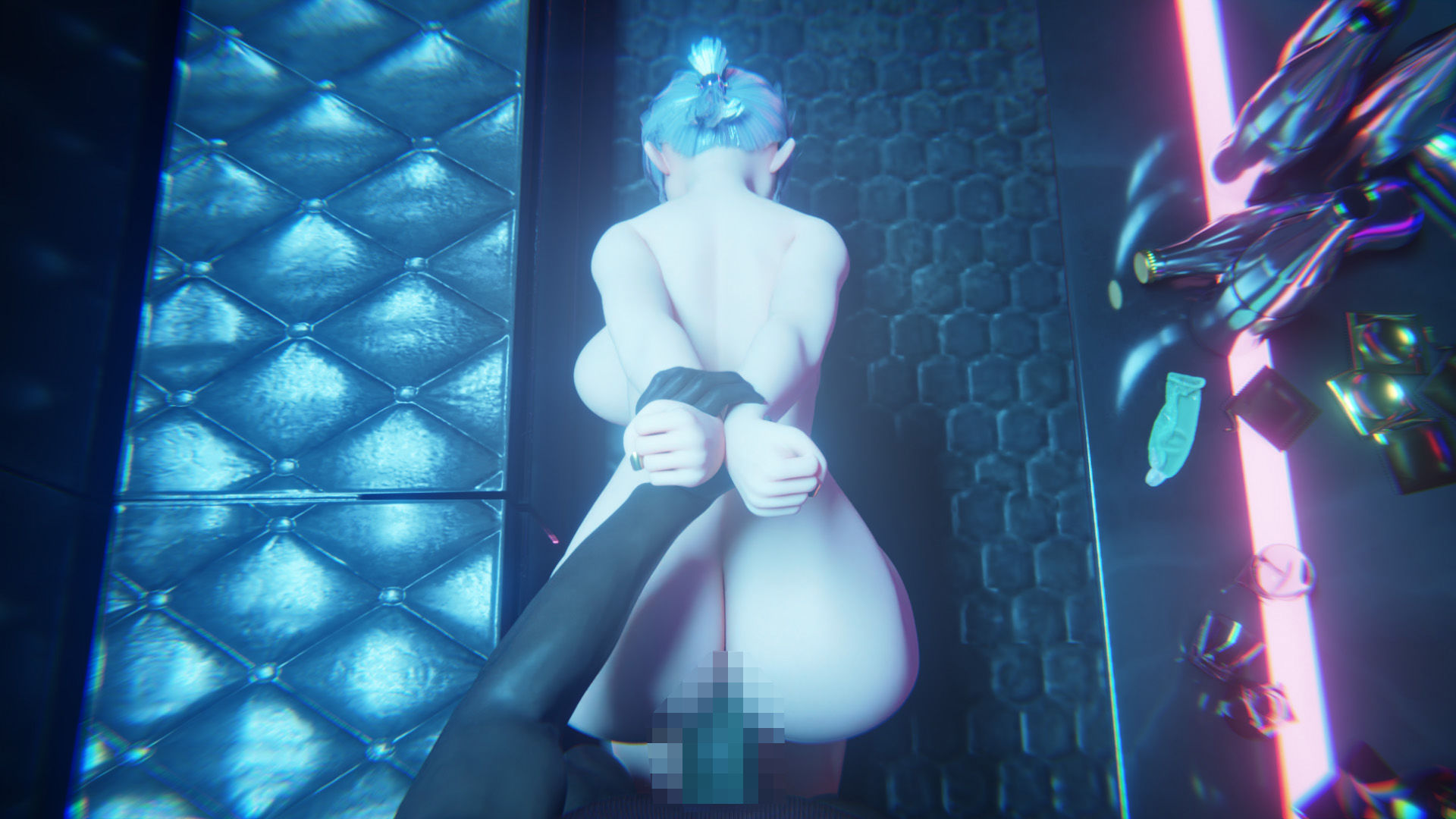 エリサのバックステージ VR