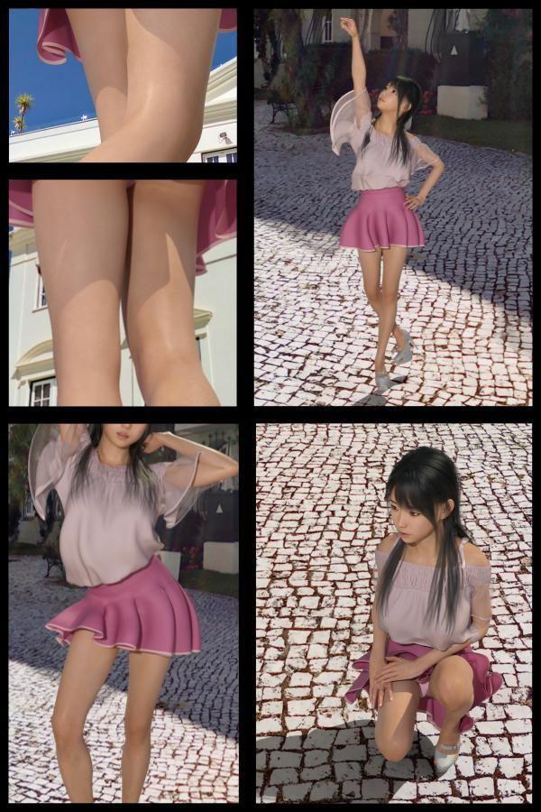 【TD・All】『理想の彼女を3DCGで作ります』から生まれたバーチャルアイドル「戸坂藍子」の写真集:Aiko-03(あいこ03)