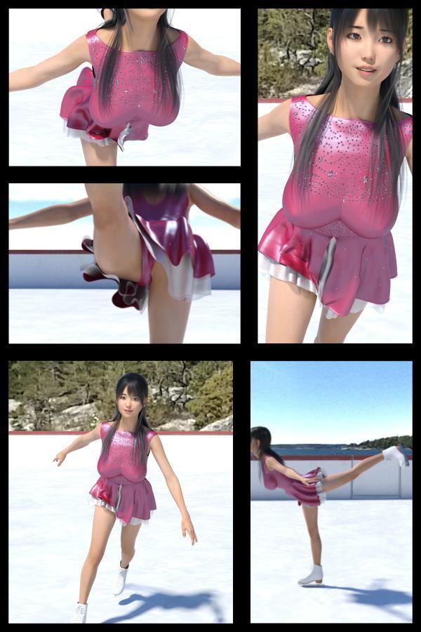 【TD・All】『理想の彼女を3DCGで作ります』から生まれたバーチャルアイドル「戸坂藍子」の写真集:Aiko-06(あいこ06)
