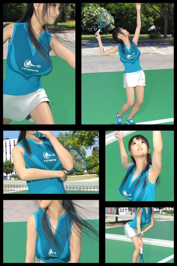 【TD・All】『理想の彼女を3DCGで作ります』から生まれたバーチャルアイドル「戸坂藍子」の写真集:Aiko-07(あいこ07)