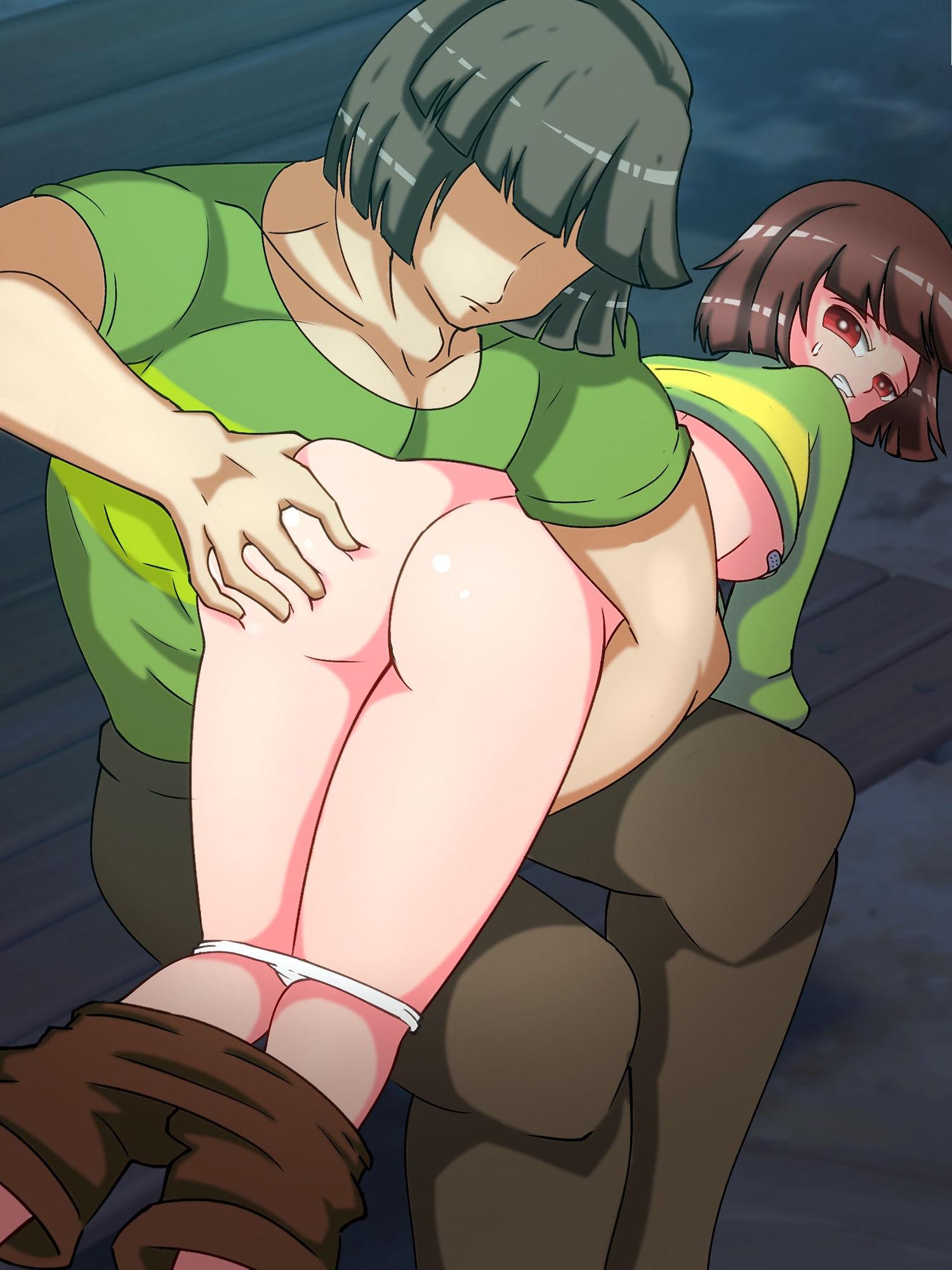 スパンキングイラスト集 my spanking artworks vol.1