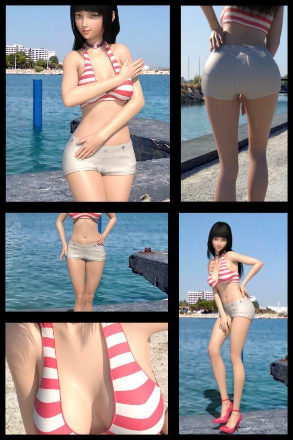 【TD・All】『理想の彼女を3DCGで作ります』から生まれたバーチャルアイドル「黒崎沙耶」の写真集:Saya-05サヤ05