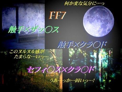 【ファイナルファンタジー 同人】禁断の夜