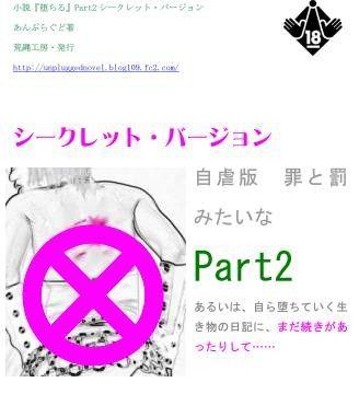 小説『堕ちる』 Part2 シークレット・バージョン