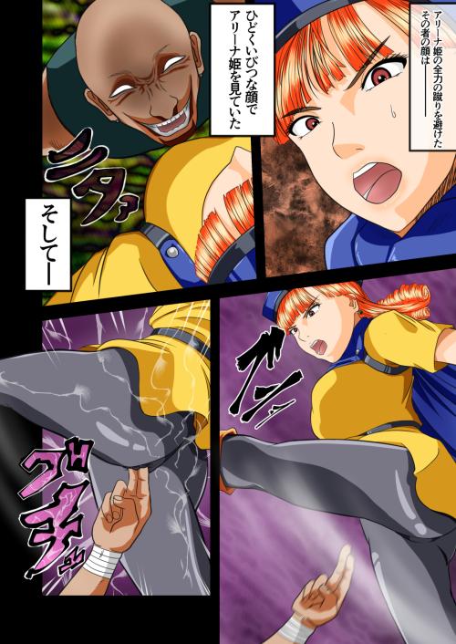 ア〇ーナ姫の災難