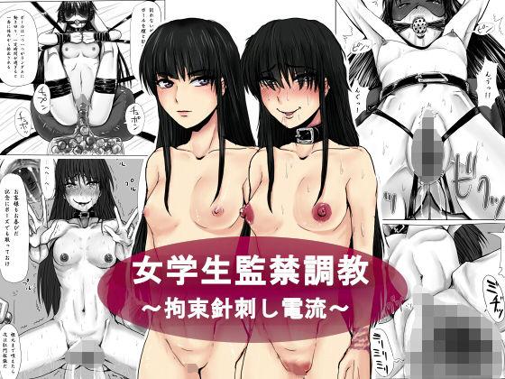 女学生監禁調教〜拘束針刺し電流〜