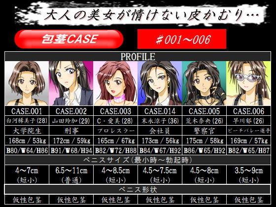 包茎CASE.001〜006