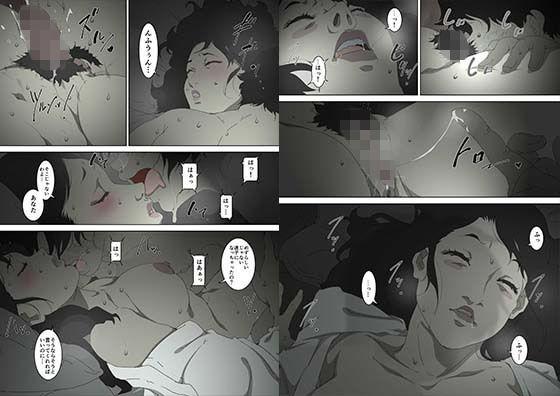 両親が寝ている寝室に忍び込み、母親に夜●いをかける息子の話。