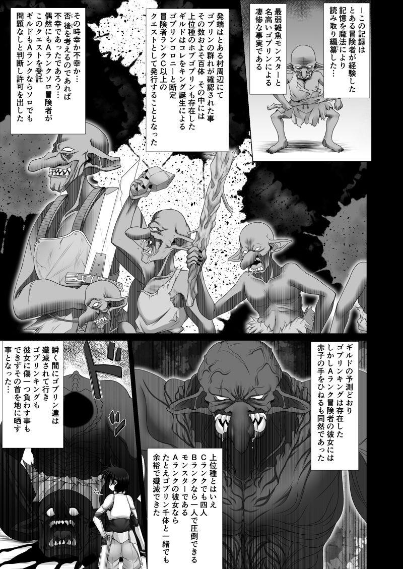 冒険者ギルド認定危険度特Sランクモンスター報告書 淫紋ゴブリン