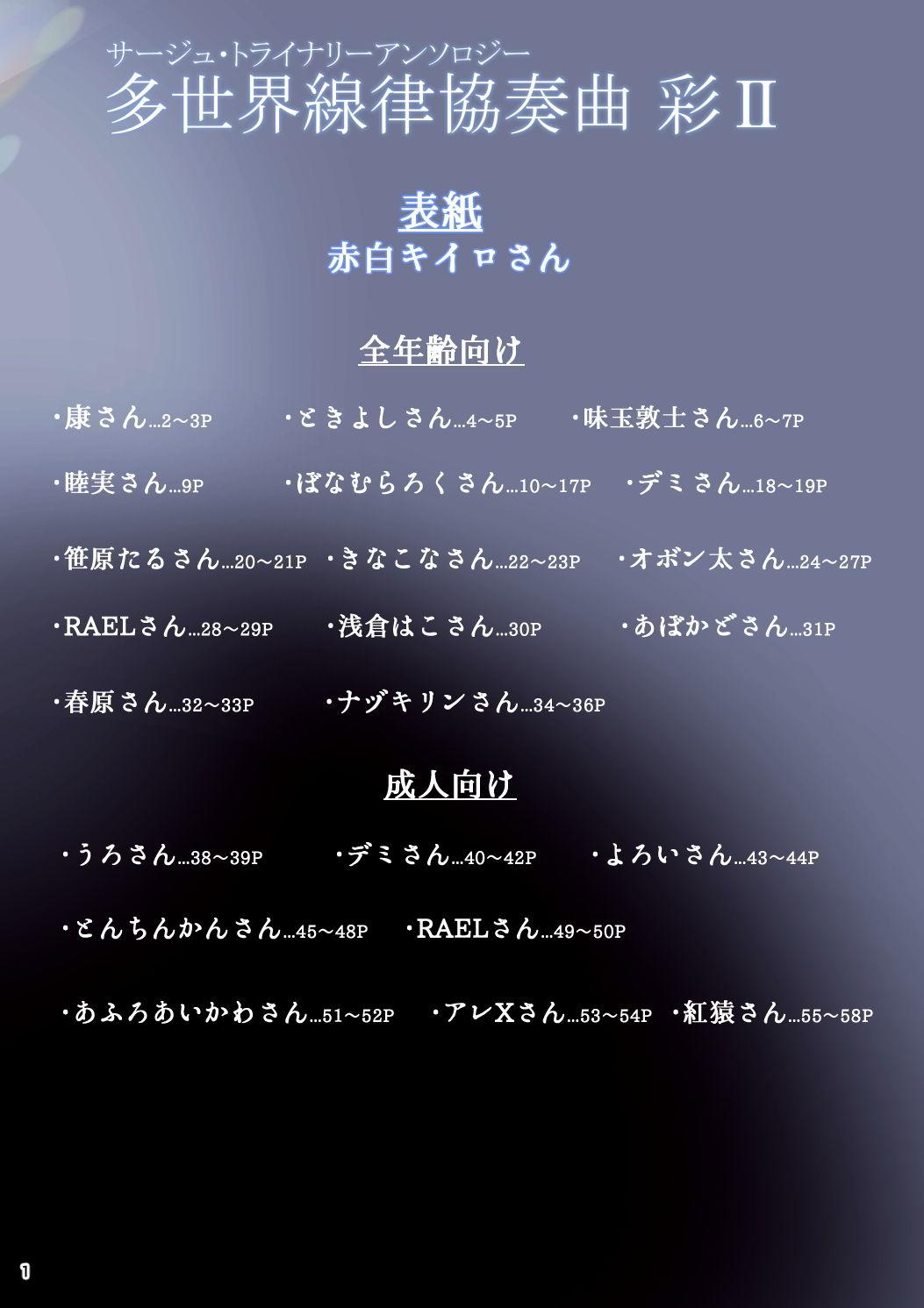サー〇ュ・トラ〇ナリーアンソロジーアンソロジー 多世界線律協奏曲II