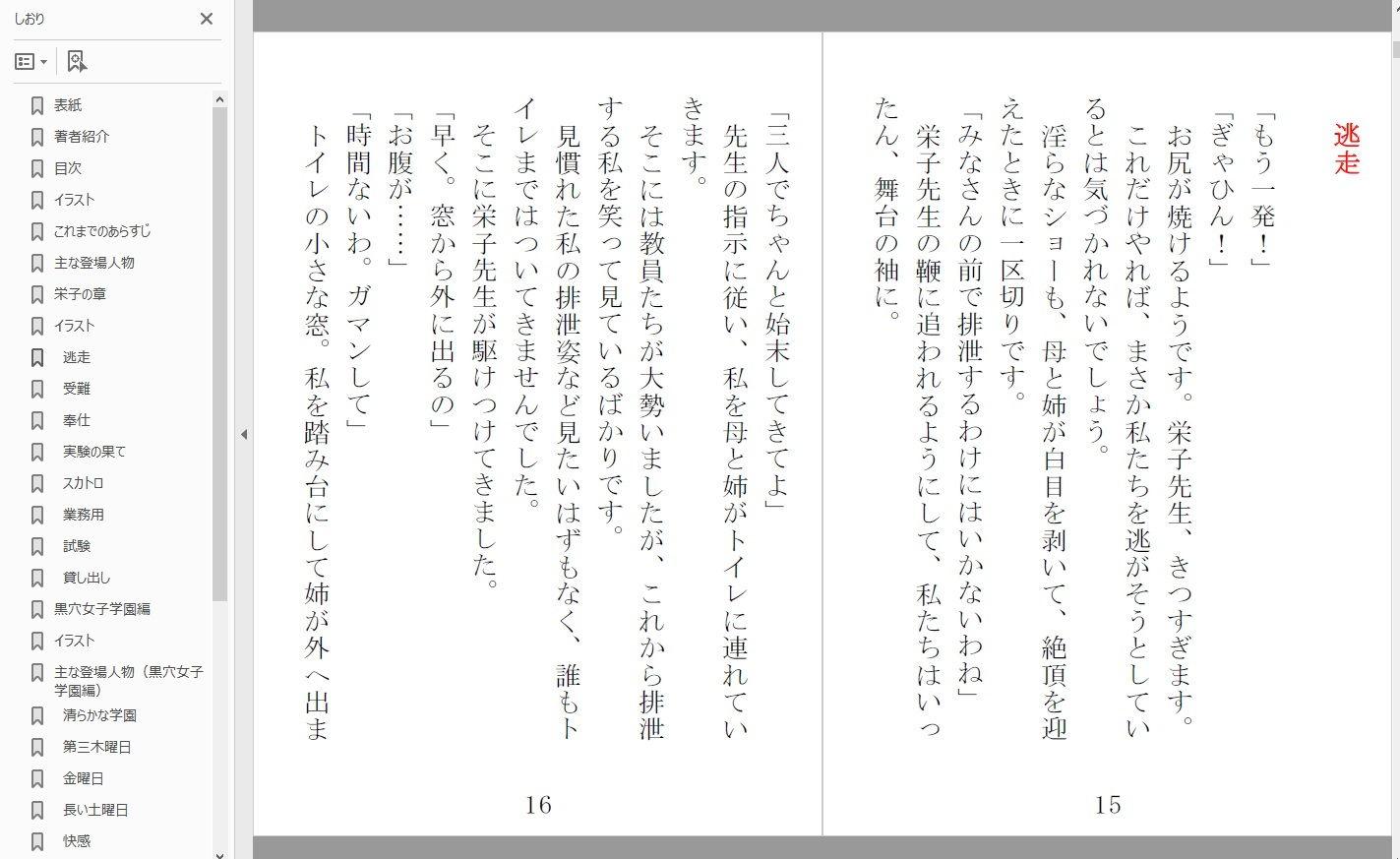 隷徒4栄子の章+黒穴女学園編