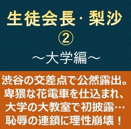 生徒会長・梨沙2 ~大学編~