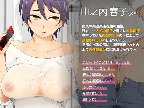人妻・春子の調教寝取られ性活2 〜かつて娘を弄んだ男達が、私のカラダを狂わせる〜