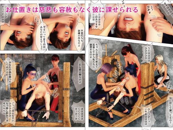 F/M男子くすぐり拷問部屋3 ~反省できるまで終わらないくすぐりお仕置き~