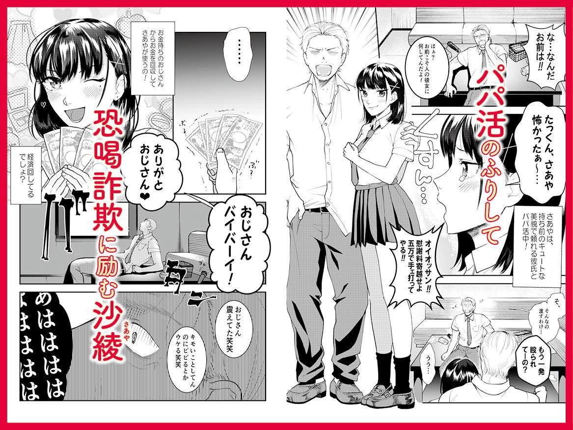 巨乳JKシリーズ 6 パパ活JK沙綾に調教種付け指導!