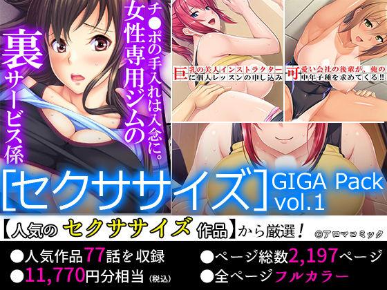 【期間限定特価】[セクササイズ]GIGA Pack vol.1【11月9日まで】