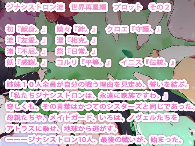【小説】ジナシストロン淀 完結編<下> 最終決戦 世界再星編