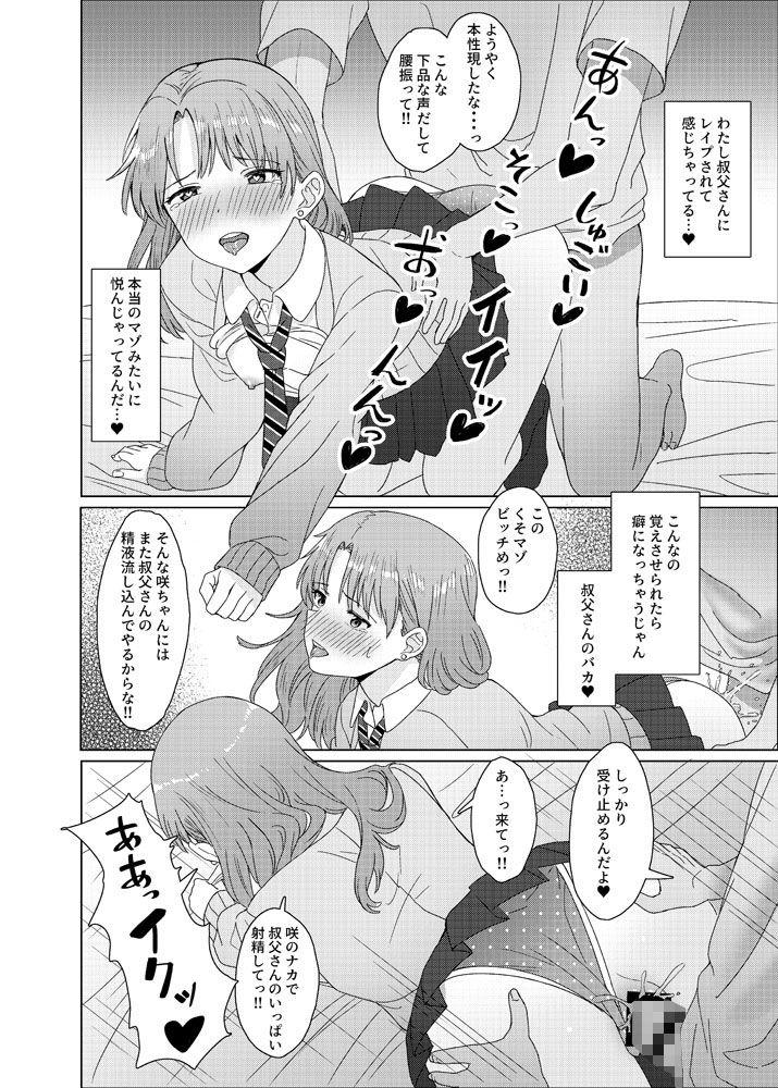 姪っ子JK×勘違い×お仕置きSEX=???