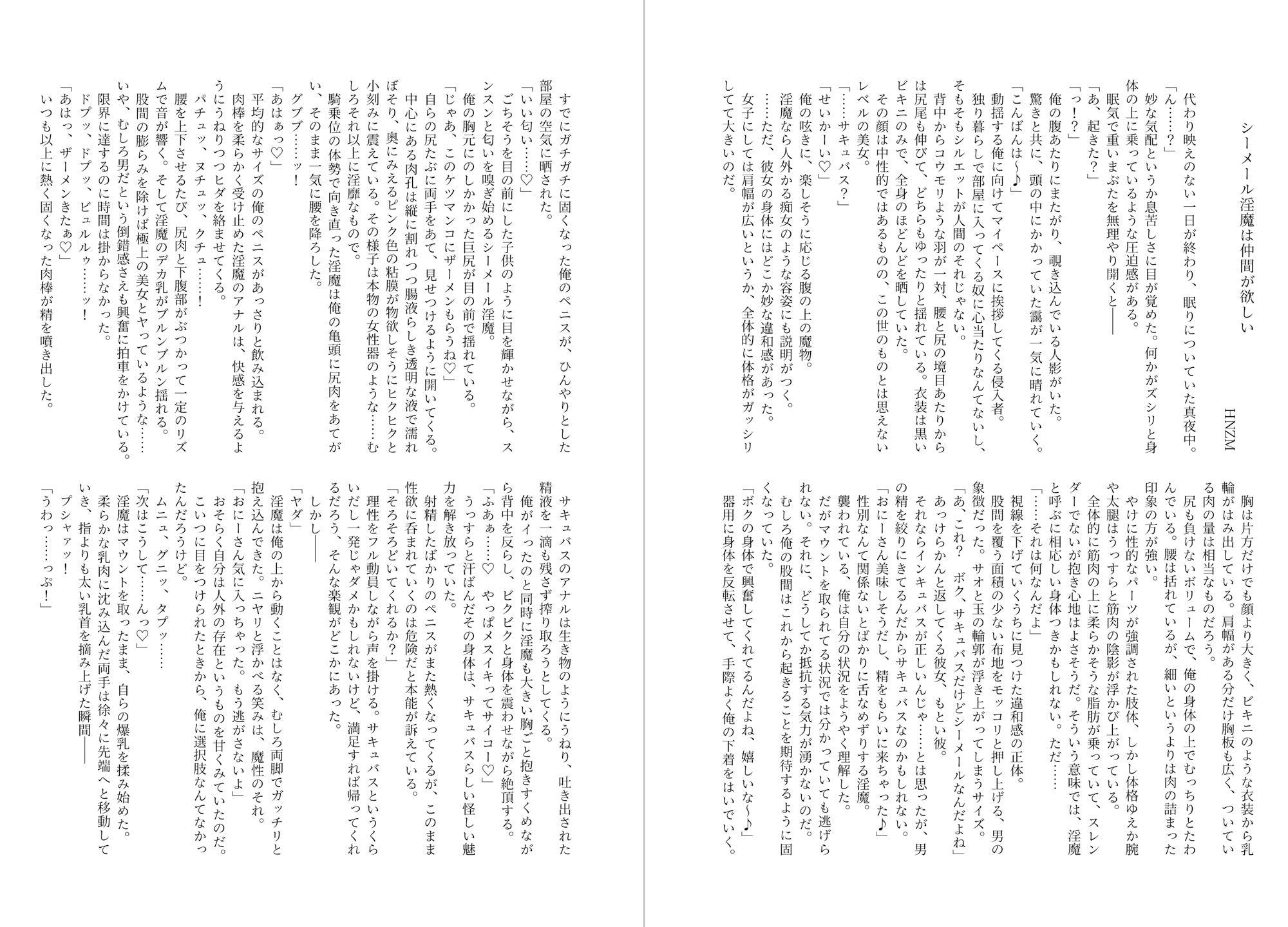 シーメール&メス男子合同誌 C's HAVEN