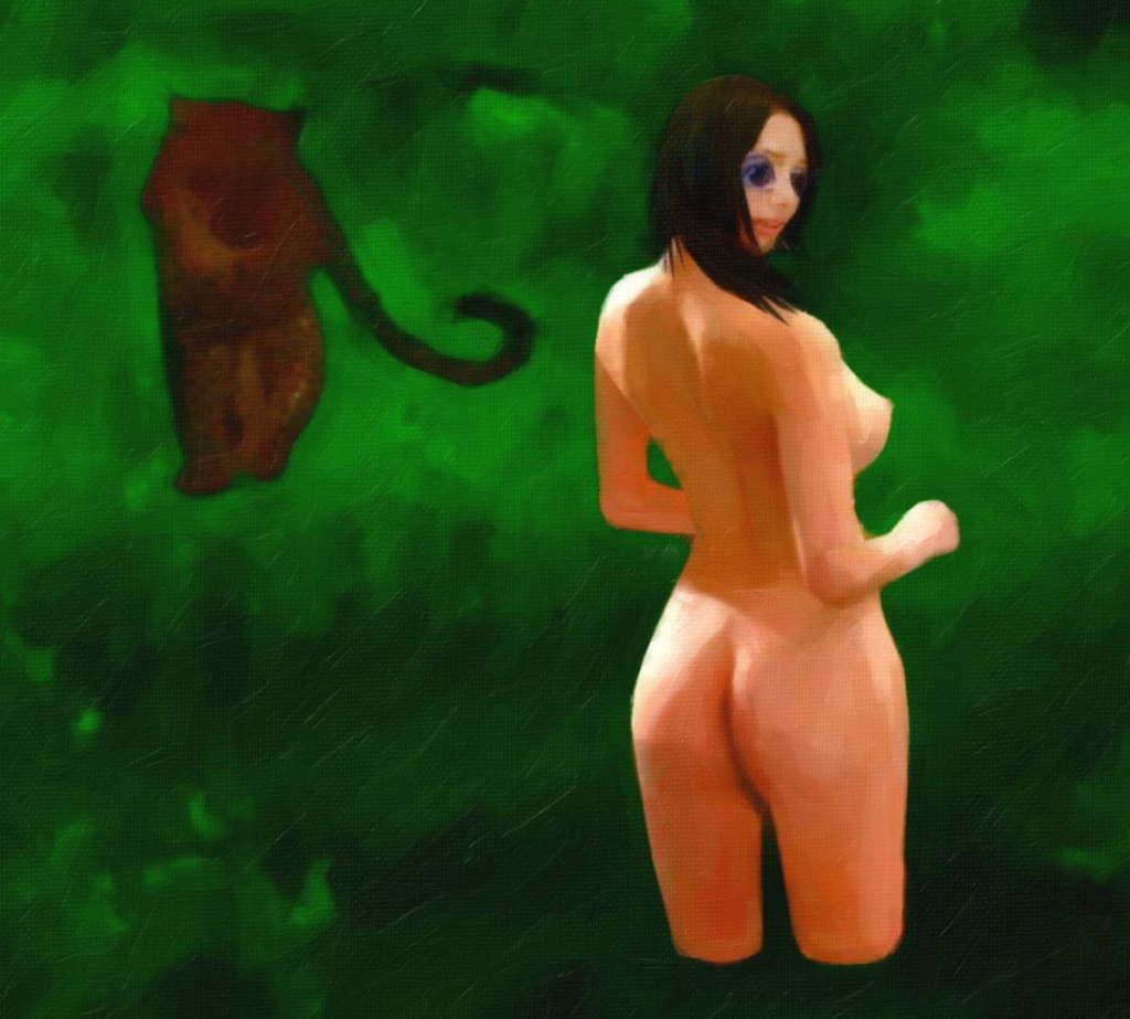 サンプル画像3:人喰い豹に捕獲されし美女の末路(暗黒文庫) [d_190287]