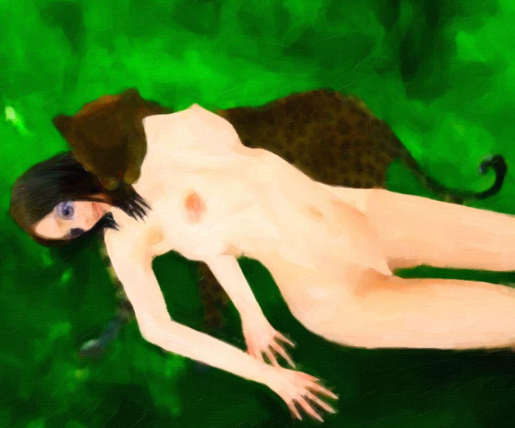 サンプル画像4:人喰い豹に捕獲されし美女の末路(暗黒文庫) [d_190287]
