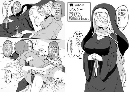 勇者に寛容すぎるファンタジー世界~NPC(モブ)相手中心ショートH漫画集~