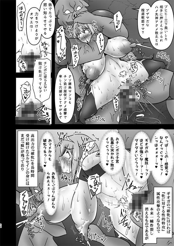 煌盾戦姫エルセイン VANQUISHED SHIELD DL版