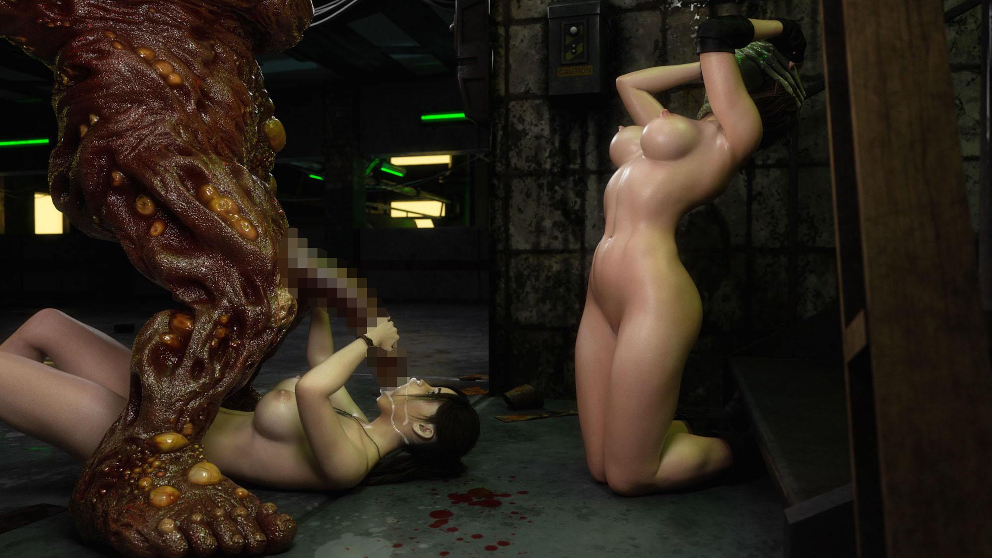 Residential Evil XXX 7