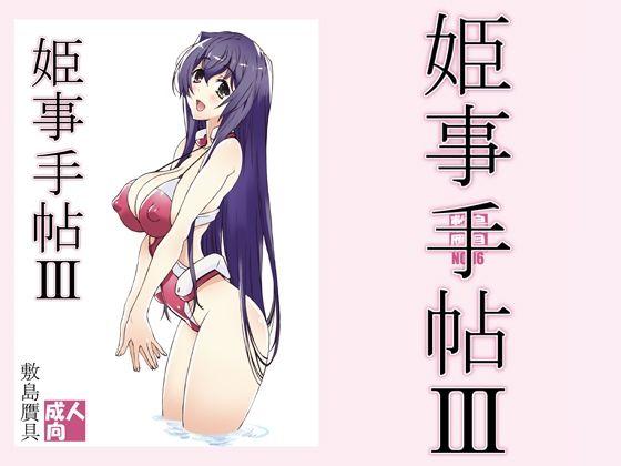 【境界線上のホライゾン 同人】姫事手帖3