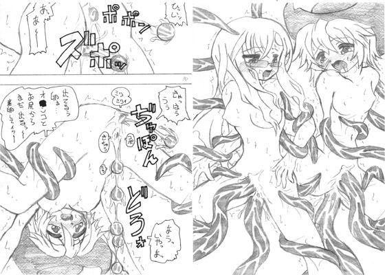 サモ○ナイト 3 「触手産卵」本 2 海賊娘と機界護人