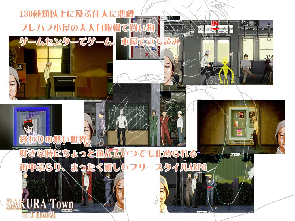 SAKURA Town 三丁目の男 ver1.8D