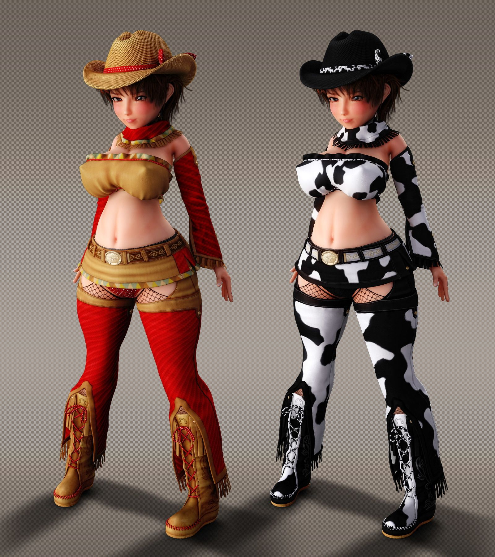 【Chocoンとこ 同人】CowgirlOutfitforHaru