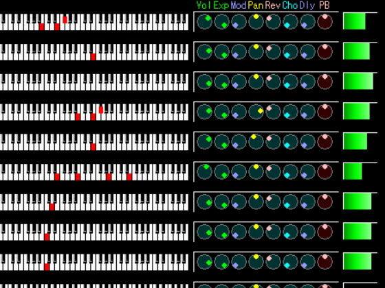 MKS Series MIDI Singal Indicator
