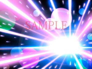 著作権フリー背景CG素材「弾丸のような効果背景」