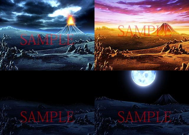 著作権フリー背景CG素材「荒野」