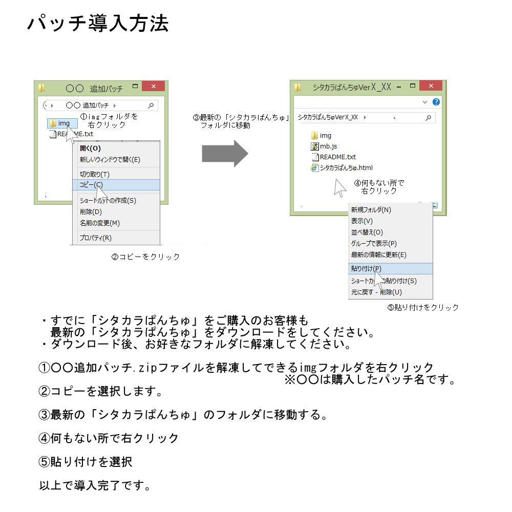追加パッチSP113〜116パック