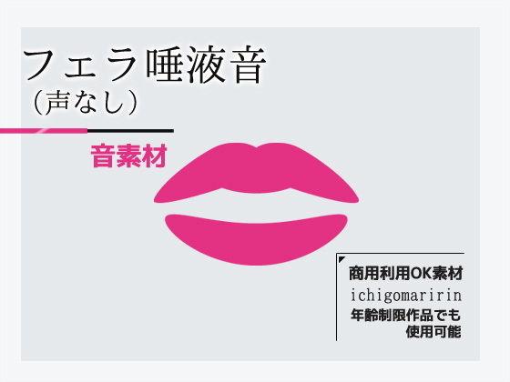音素材「フェラ唾液音/声なし」〜商用OK著作権フリー