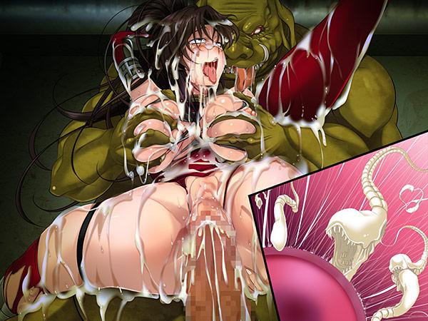 女忍者アズサvsオーク123パック 〜アズサの軌跡〜10