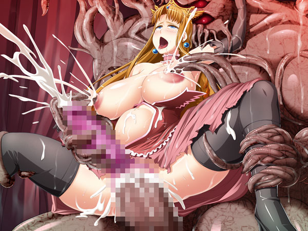 今日のおかず 受精王女アルスフィア 淫欲女体改造に乱れ悶える触手魔王の花嫁 3