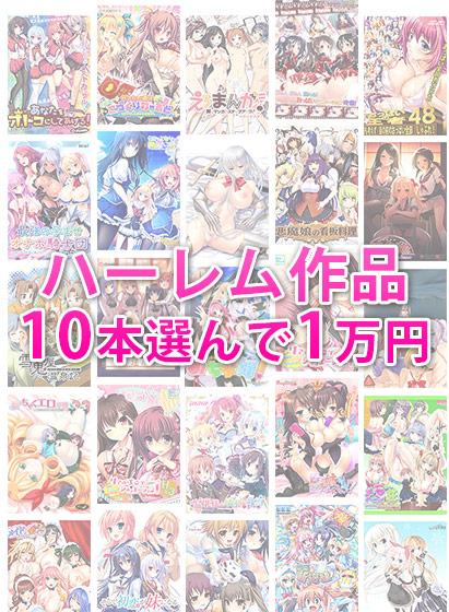 【まとめ買い】ブランド合同!ハーレム作品10本選んで1万円セット! パッケージ写真