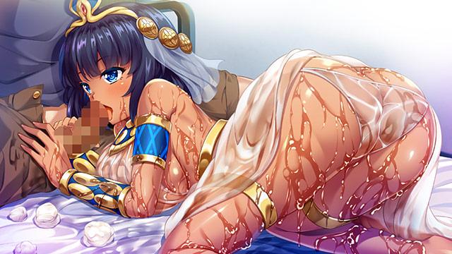 クレオパトラがやってきた!? 現代に降臨した古代女王と濡れ透け性生活 2